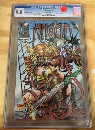 Angela Special Edition 1 Pirate CGC 98 wWHITE