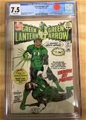 Green Lantern #87 - CGC 7.5 - Major KEY! 1st John
