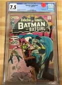 Detective Comics #410 - CGC 7.5 - Batgirl!