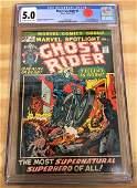 Marvel Spotlight #5 - CGC 5.0 - 1st GHOST RIDER - Major