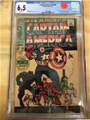 Captain America #100 - CGC 6.5 - Major KEY!