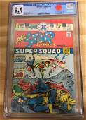 All-Star Comics #58 - CGC 9.4 w/WHITE Pages - 1st POWER
