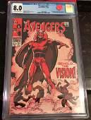 Avengers #57 - CGC 8.0 - 1st Vision - MAJOR Key!