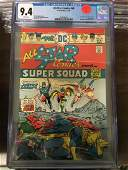 All-Star Comics #58 CGC 9.4 w/ WHITE Pages - 1st Power