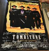 Tombstone Signed Movie Poster