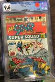 All-Star Comics #58 CGC 9.6 w/ WHITE Pages - 1st