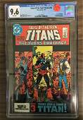 Tales of the Teen Titans #44 CGC 9.6 w/WHITE Pages -