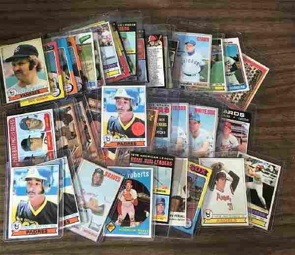Lot of (46) Star & other cards w/(3) Ozzie Smith