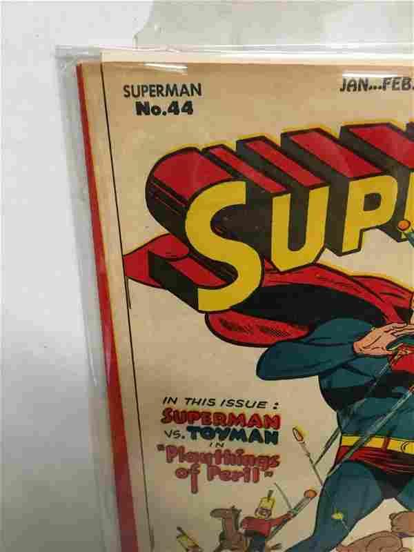 Superman #44 - Toyman! CGC it!