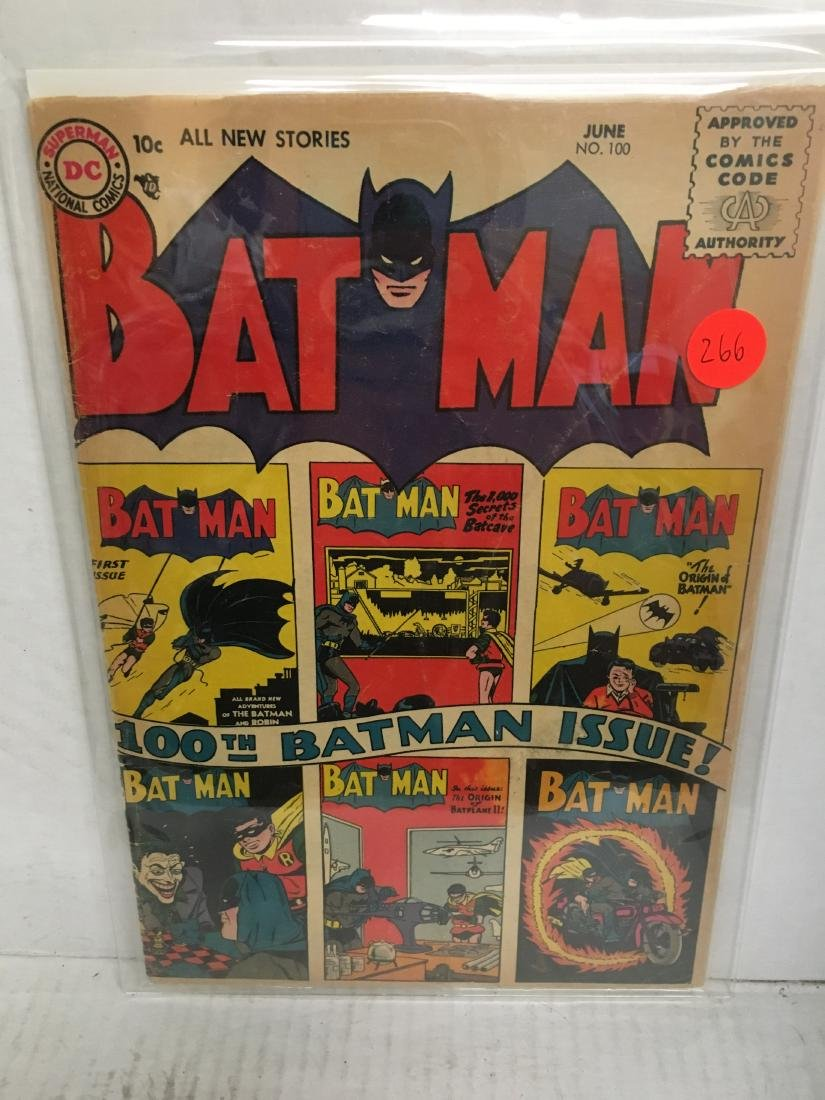 Batman #100 - KEY comics books comic issue!