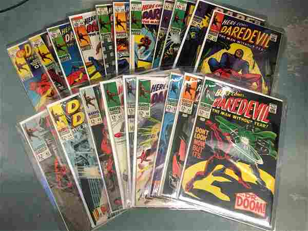 Daredevil #36 - 53 + 72 & 80 - Lot of (20) Higher Grade