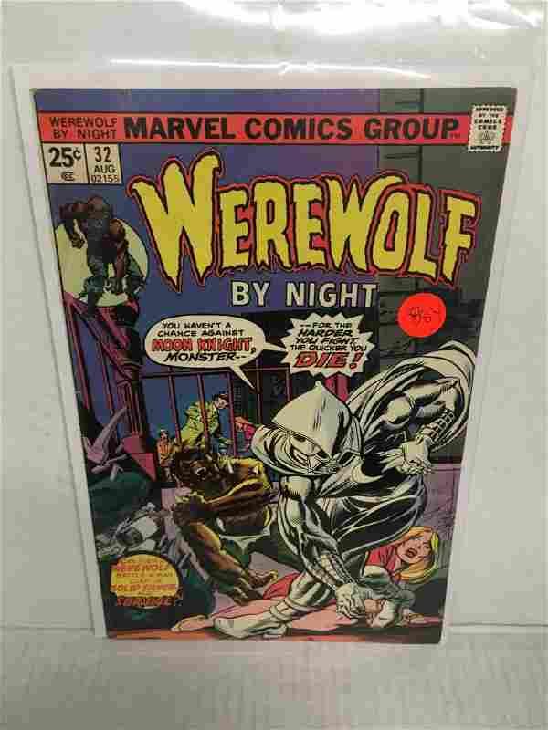 Werewolf by Night #32 - 1st Moonknight! MAJOR KEY! CGC