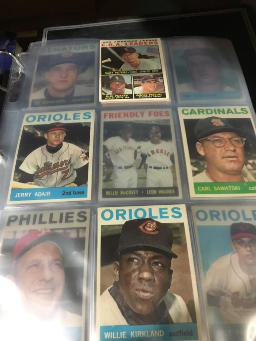 1964 Topps Baseball near set of roughly 300+ NM to