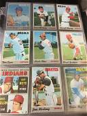 1970 Topps Baseball near set of roughly 500+ cards -