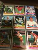 1976 Topps Baseball near set of roughly 500+ cards in