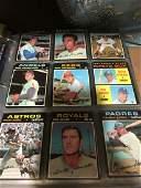 1971 Topps Baseball near set of roughly 500+ w/stars,