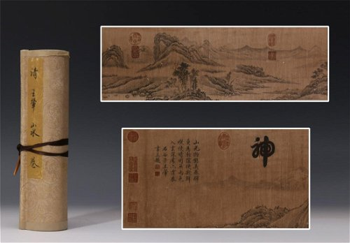 Scrolls, Screens & Fan Paintings