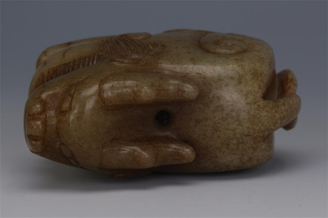 CHINESE ANCIENT JADE BEAST - 9