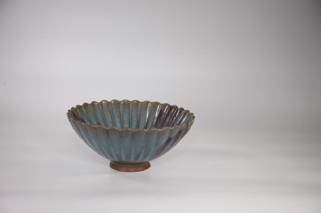 Chinese Song Dynasty Jun yao Bowl with Purple Splashes - 10