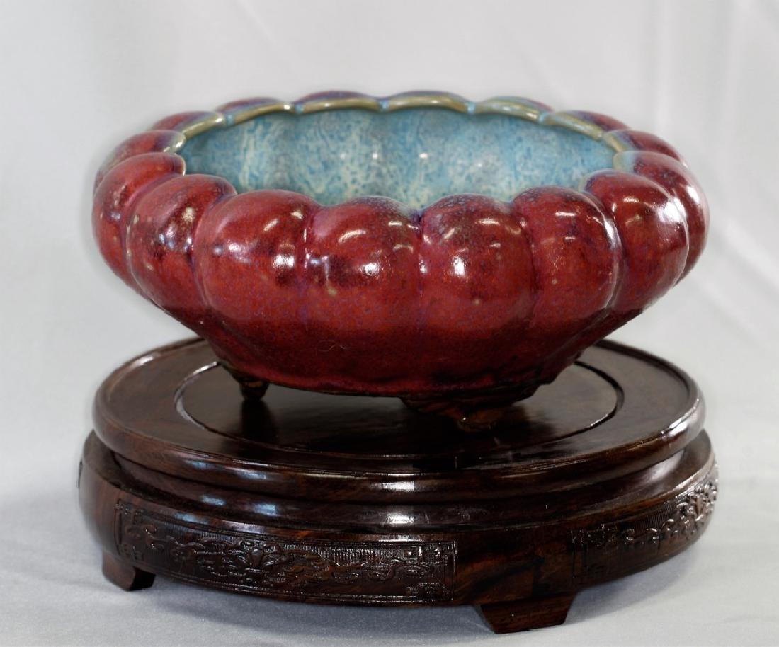 Chinese Song Dynasty Flambe Glazed Brush Washer - 4