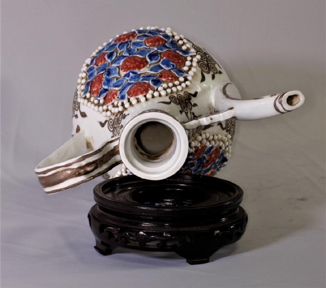 Chinese Yuan Dynasty Ewer with Long Spout - 9