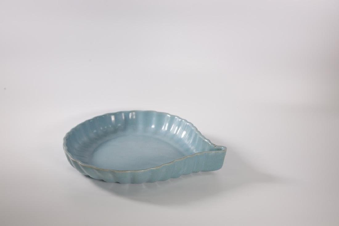 Chinese Song Dynasty RuYao Brush Washer - 5