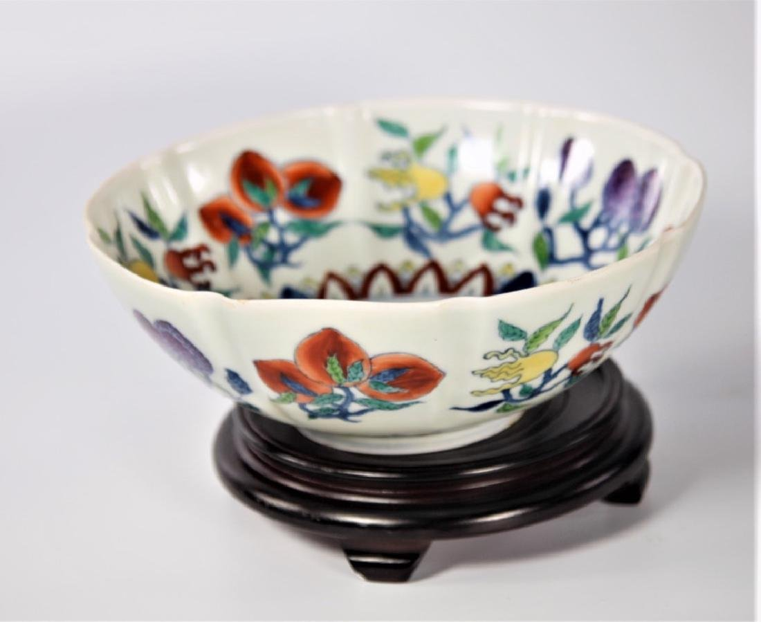 Chinese Ming Dynasty Doucai porcelain bowl - 3