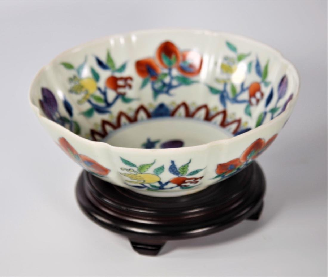 Chinese Ming Dynasty Doucai porcelain bowl - 4
