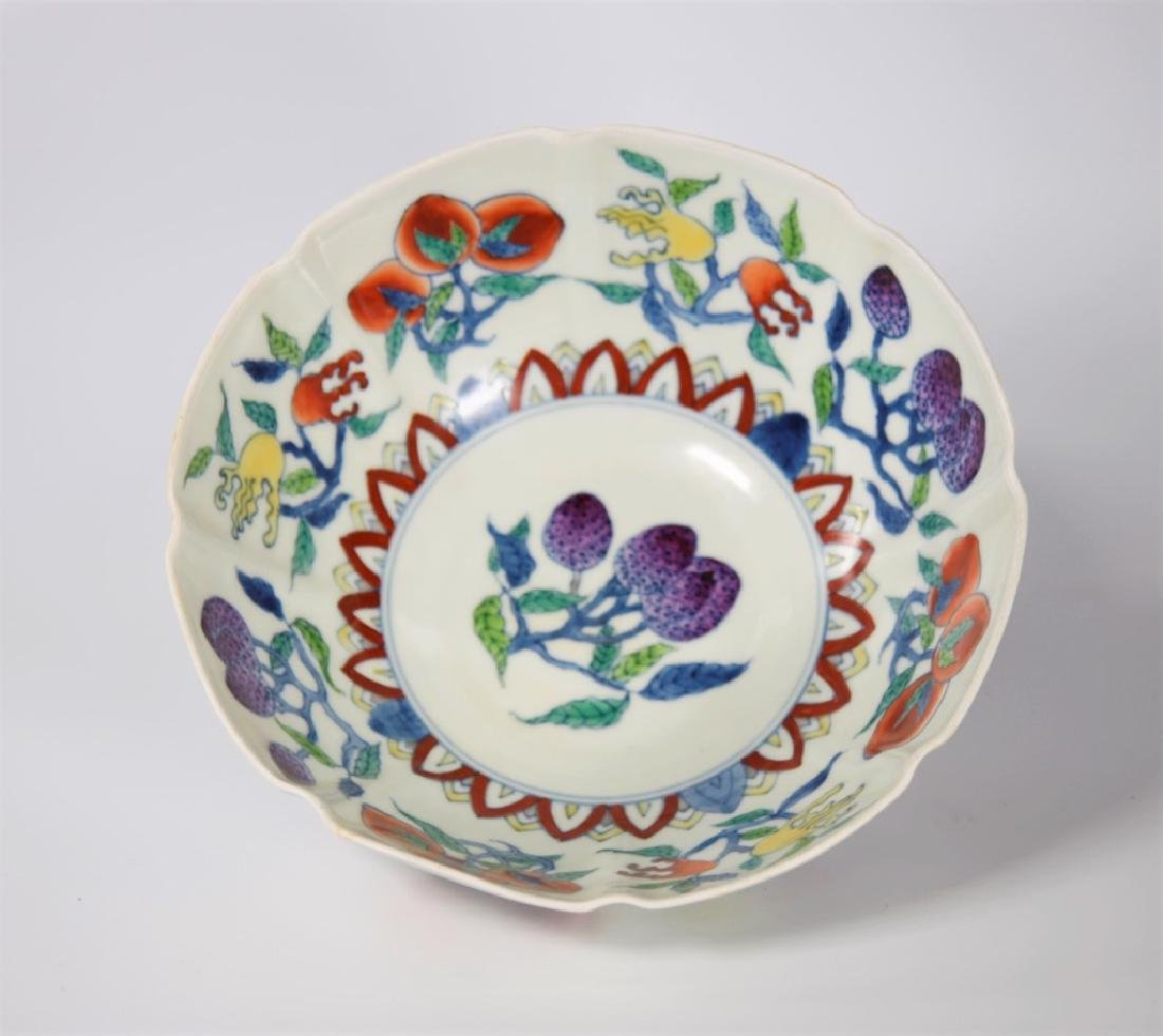 Chinese Ming Dynasty Doucai porcelain bowl - 5