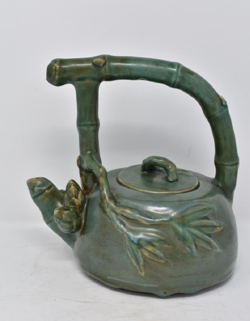 Chinese Green Glazed Teapot