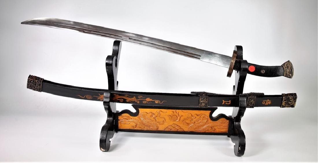 Important Ming Dynasty Court Use Combo Steel Sabre