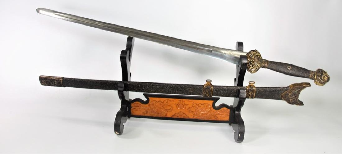 Chinese Ming  Dynasty Yongle Sword