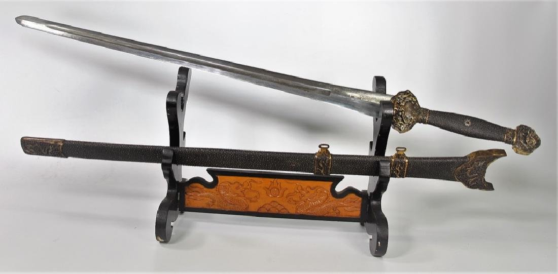 Chinese Ming  Dynasty Yongle Sword - 2