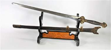 Important Chinese Ming Dynasty Yongle Sword