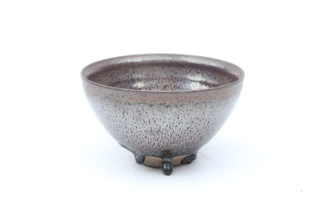 Chinese Song Dynasty Jian Kiln Glazed Tea Bowl