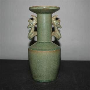 Ming Dynasty Yellow Glaze Porcelain Incense Burner