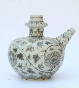 Ming Dynasty blue and white wine server