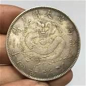 Qing Guangxu silver coin