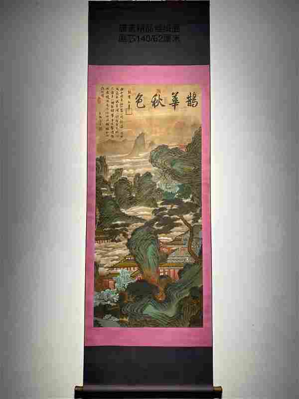 Ming Dynasty painting Scroll by Tang Yin