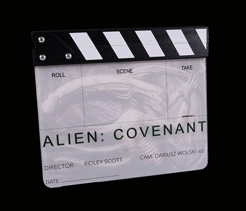 Alien: Covenant Clapperboard