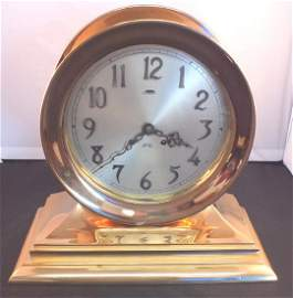 Chelsea ship's bell clock 8 inch dial