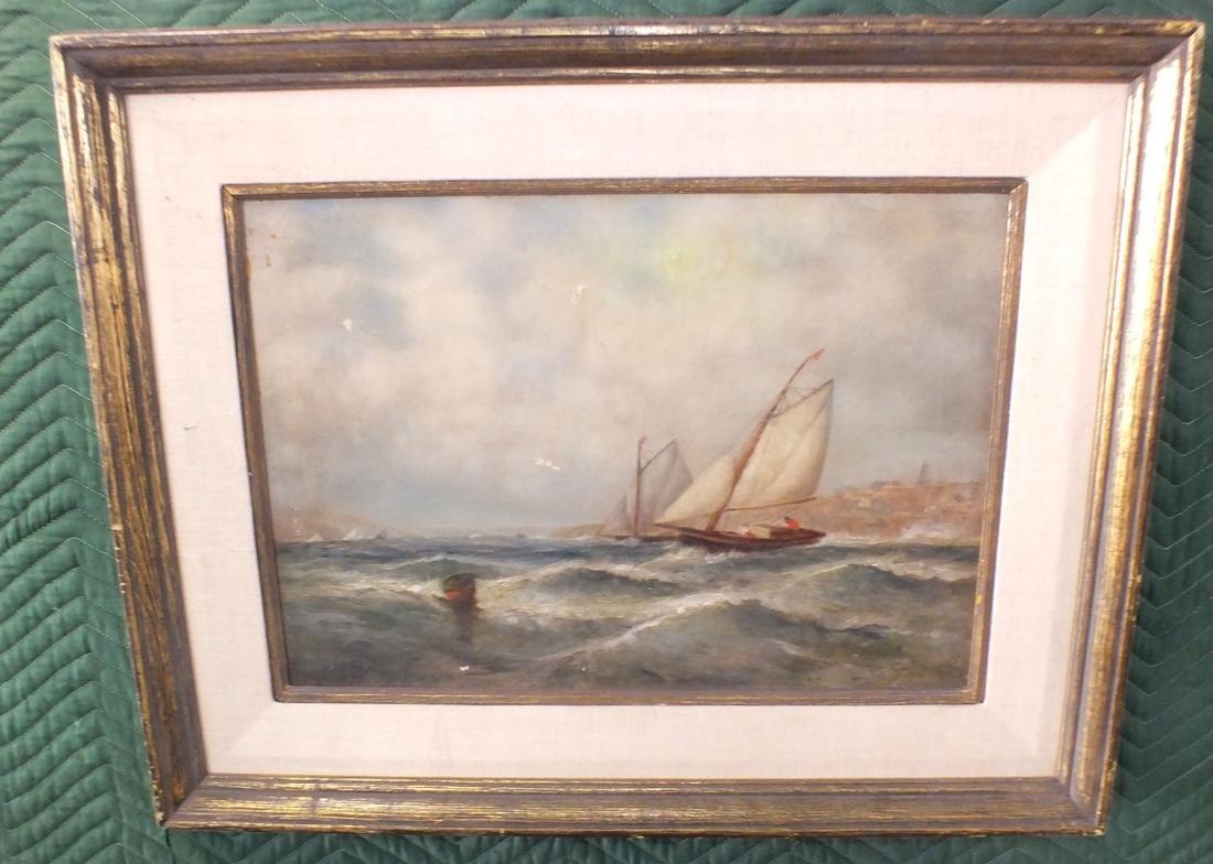 Oil/canvas Clarkson Stanfield