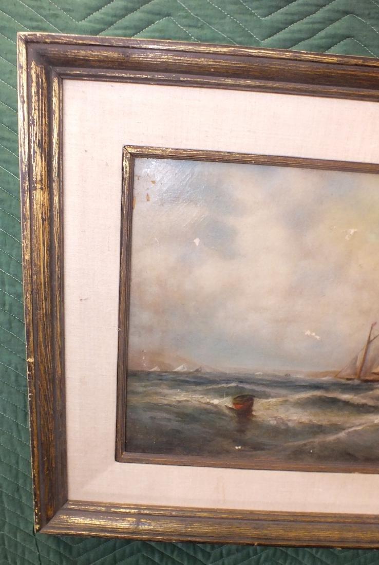 Oil/canvas Clarkson Stanfield - 2