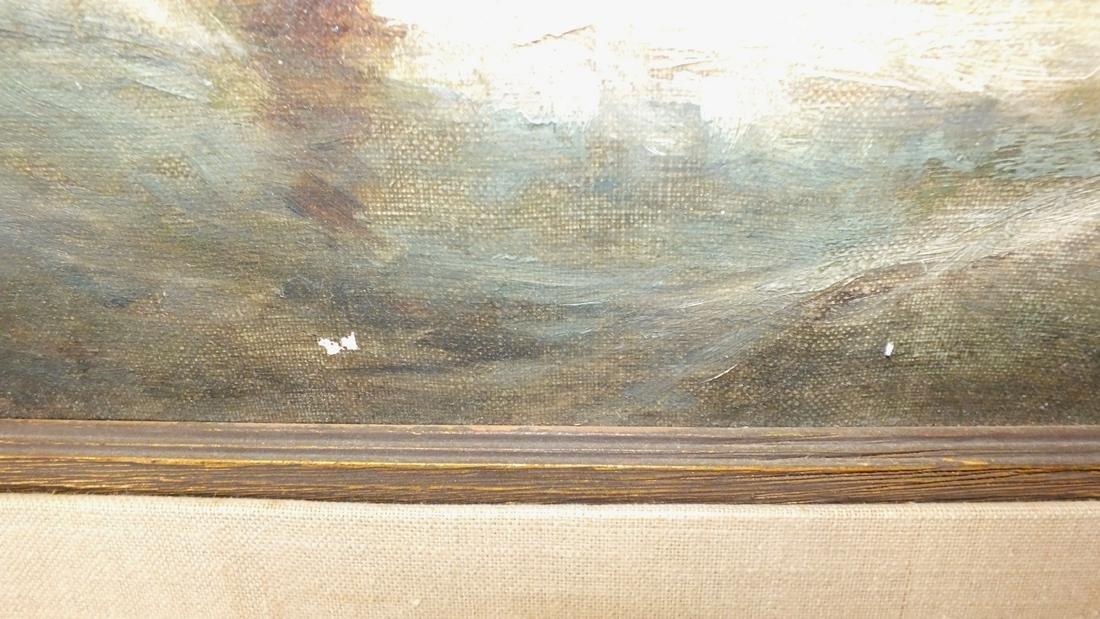 Oil/canvas Clarkson Stanfield - 8