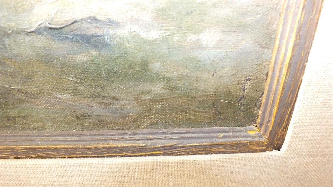 Oil/canvas Clarkson Stanfield - 9