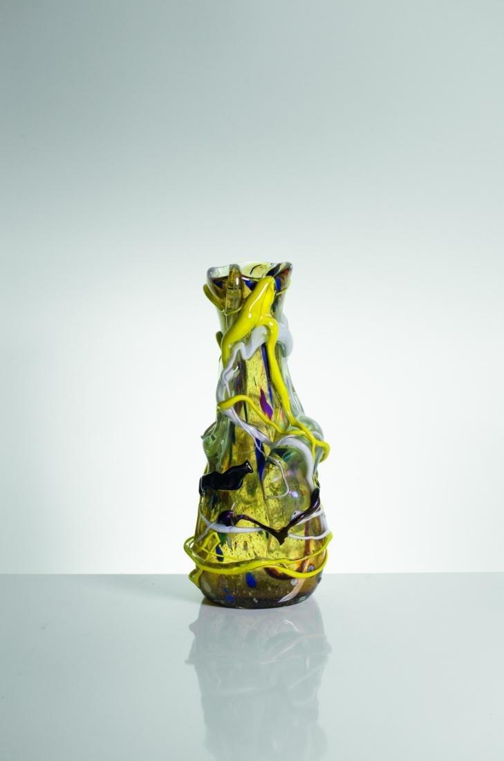 ANGELO RINALDI, vaso con applicazioni