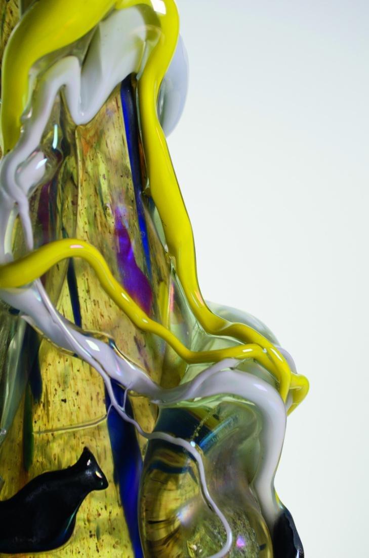 ANGELO RINALDI, vaso con applicazioni - 2