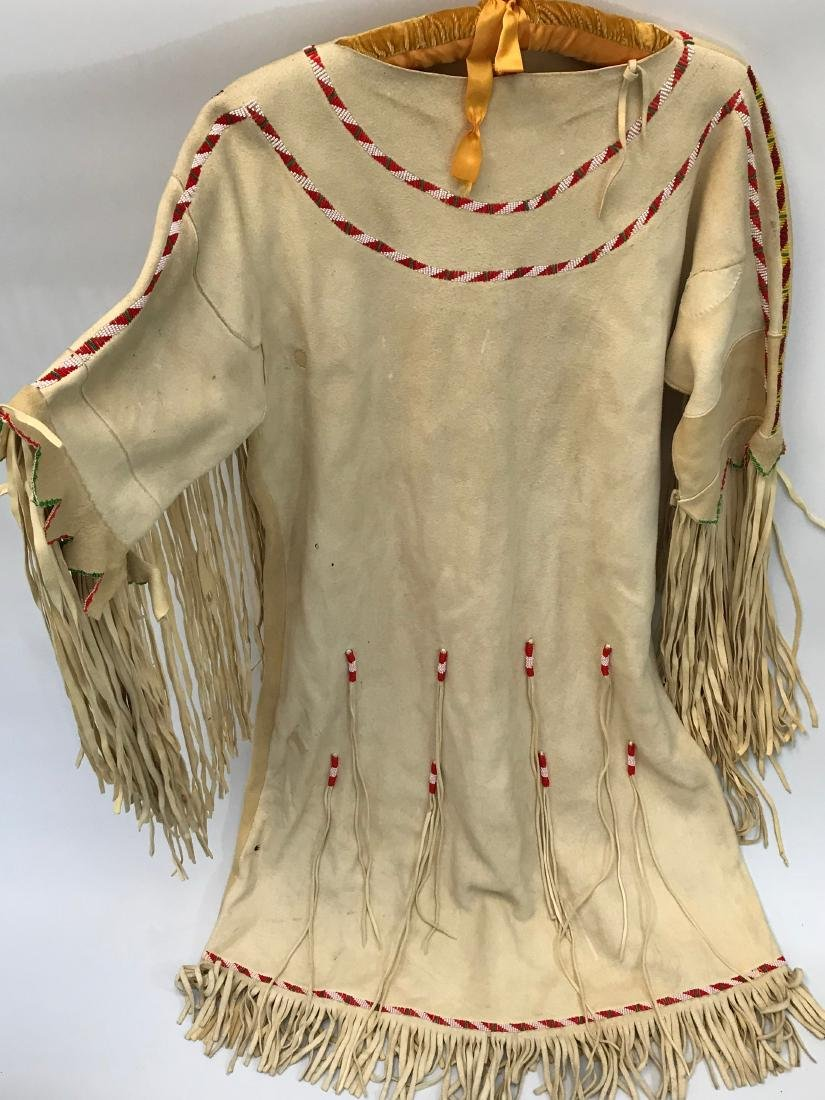 Native American, Ceremonial Dress, Authentic, Leather