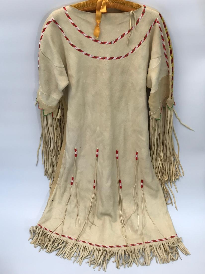 Native American, Ceremonial Dress, Authentic, Leather - 2