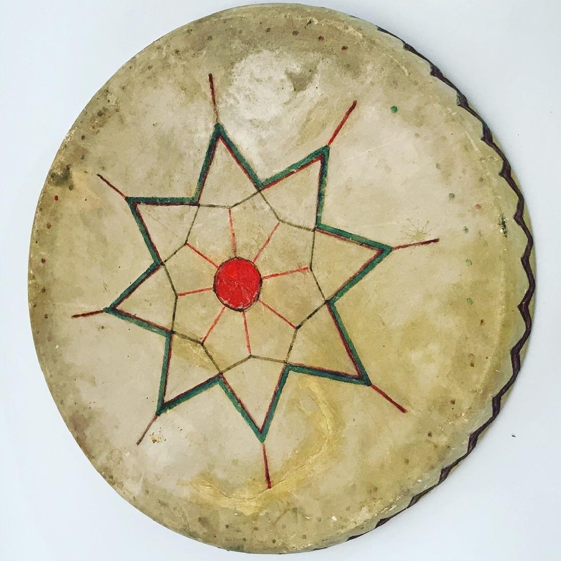 Native American, PowWow, Hope Symbol Drum, Pueblo